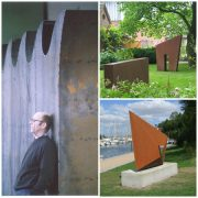 Kunst, Cortenstahl, Winni Schaak, Luebeck